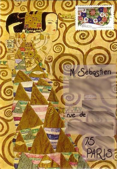 Illustration inspirée de Klimt