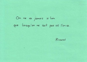 Citation Rivarol