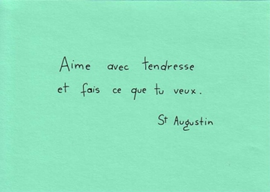 Citation de Saint Augustin