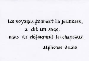 Citation Alphonse Allais