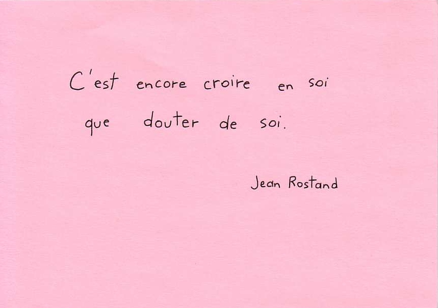 Citation Rostand