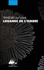 Couverture du livre de Tanizaki / Éd. Philippe Picquier