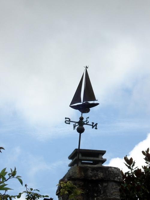 08 07 12 La-Trinité-sur-mer (56) Girouette voilier