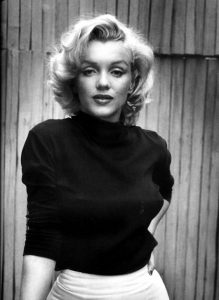 Portrtait de Marylin Monroe
