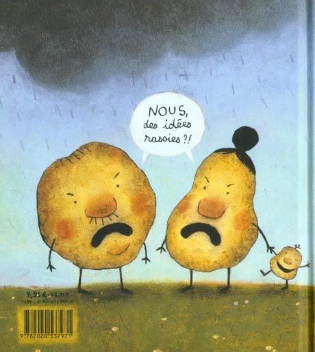 """Ill. extraite de """"Patates"""" de Lionel Le Néouanic (Seuil Jeunesse)"""