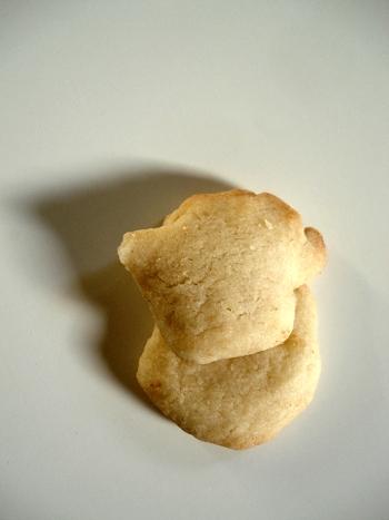 Biscuit sablé - 09 05 11